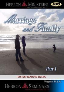 Marriage and Family - Part I - VA Seminar - MP3-0