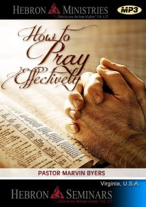 How to pray Effectively - MP3-0