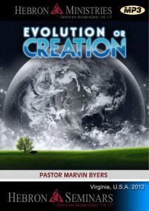 Evolution or Creation - MP3-0