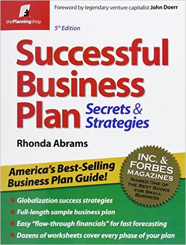 Successful Business Plan Secretspdf HoGo Book Store