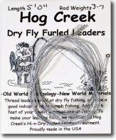 Hog's Creek Furled Leader - Gray Dun