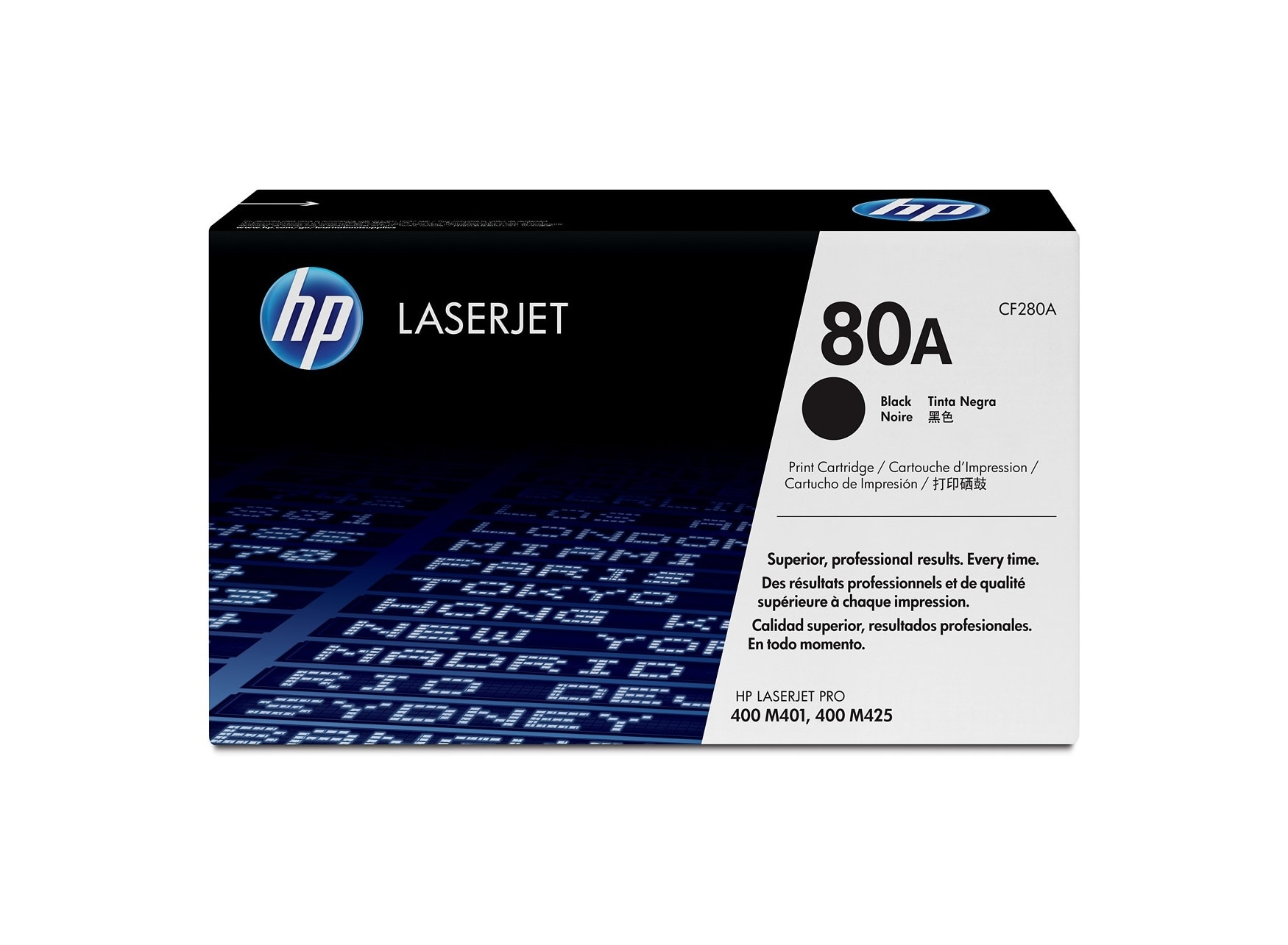Hp 80a Cf280a Black Original Laserjet Toner Cartridge