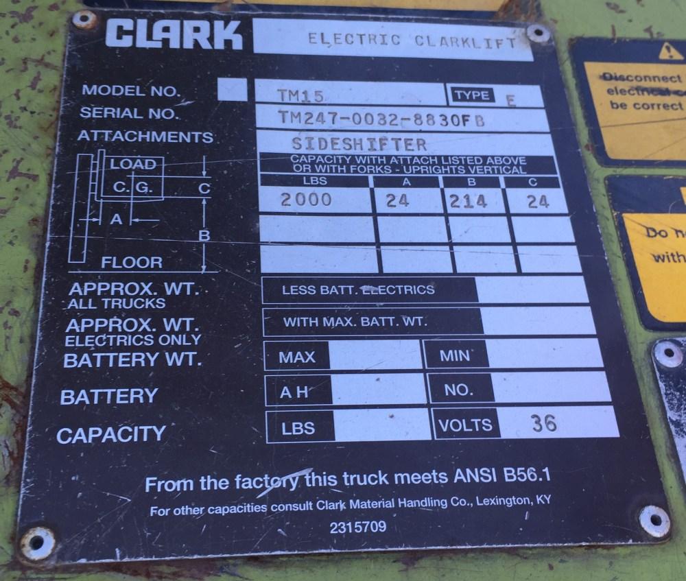 medium resolution of clark forklift s serial number clark forklift s serial number