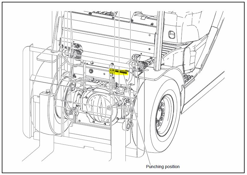 Toyota Forklift Model Fd70 Parts Diagram, Toyota, Free