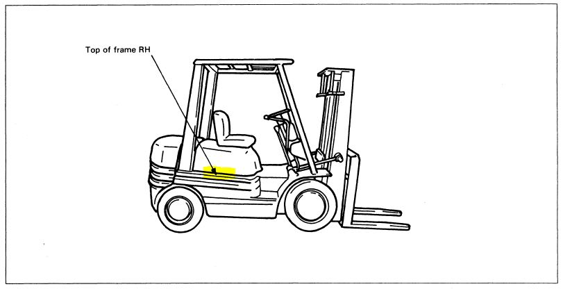 yale forklift dimensions