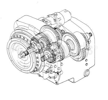 Dana OEM remanufactured transmission 13.7HR28334-8