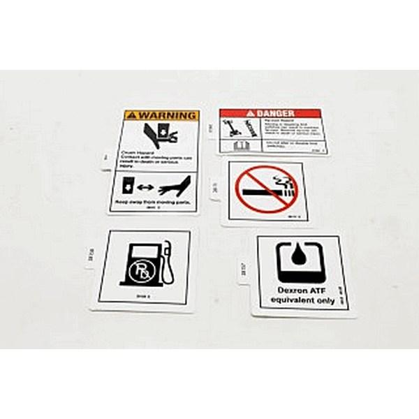 Genie 48361 Decal Kit Instruct Z454X4 Gas