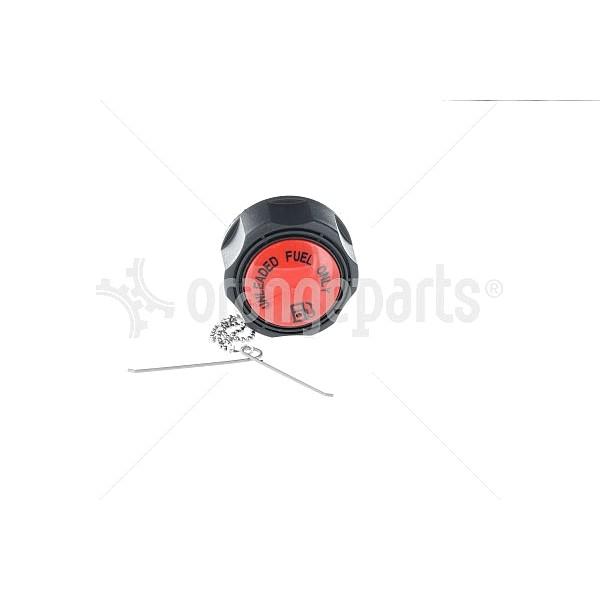 Genie 101727 Cap Fuel Gas 1/8 Invent(Red)