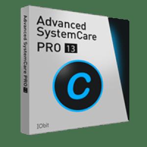 >50% Off Coupon code Advanced SystemCare 13 PRO (1 ano/3 PCs) + IU Pro - Portuguese