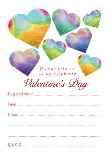 Valentines Day Party Invitation, VPIT-02