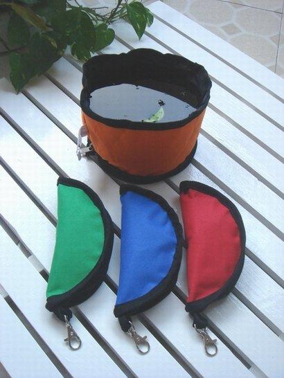 Pet Water Food Travel Bowl Dog Portable DrinkFood Dish