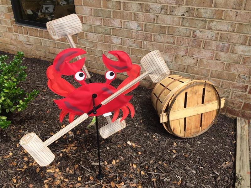 Crab  Mallet Whirligig Spinner