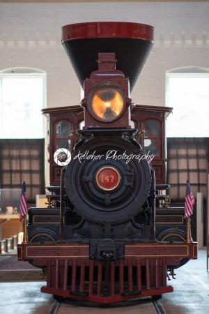 BALITMORE, MD – APRIL 15: B O No. 117 Thatcher Perkins Baltimore Ohio Railroad 4-6-0 Perkins Ten Wheeler on April 15, 2017 - Kelleher Photography Store