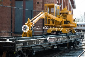 BALITMORE, MD – APRIL 15: B O No.7005 Baltimore Ohio Railroad Flat car on April 15, 2017 - Kelleher Photography Store