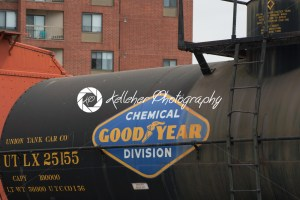 BALITMORE, MD – APRIL 15: Tank Car, steel, UTLX No.25155, GDYR No.1, Union Tank Car Company on April 15, 2017 - Kelleher Photography Store