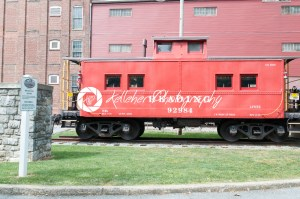 LITITZ, PA – AUGUST 30: Reading Caboose at Old Lititz Railroad Train Station on August 30, 2014 - Kelleher Photography Store
