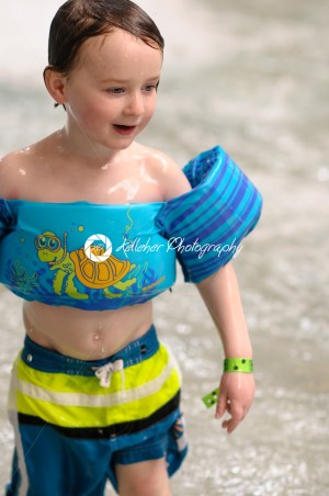 Little boy swimming in indoor pool - Kelleher Photography Store
