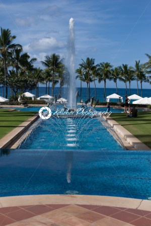 MAUI, HI – DECEMBER 15: The Grand Wailea, a Waldorf Astoria hotel, is one of several resorts in the exclusive Wailea area on the West shore of the Hawaiian island of Maui - Kelleher Photography Store