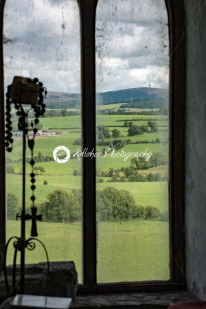 COUNTY OFFALY, IRELAND – AUGUST 23, 2017: Leap castle is one of the most haunted castles in Ireland - Kelleher Photography Store