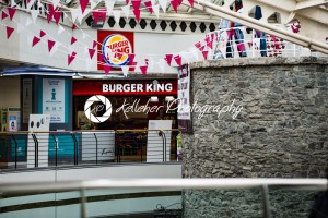 GALWAY, IRELAND – AUGUST 22, 2017: Architecture of city center of Galway Ireland - Kelleher Photography Store