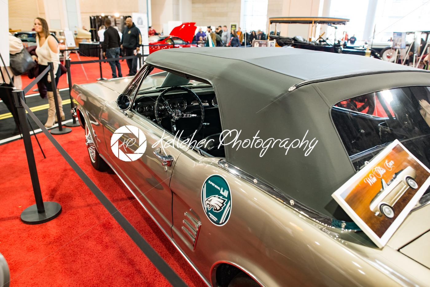 PHILADELPHIA, PA – Feb 3: 1967 Ford Mustang at the 2018 Philadelphia Auto Show - Kelleher Photography Store