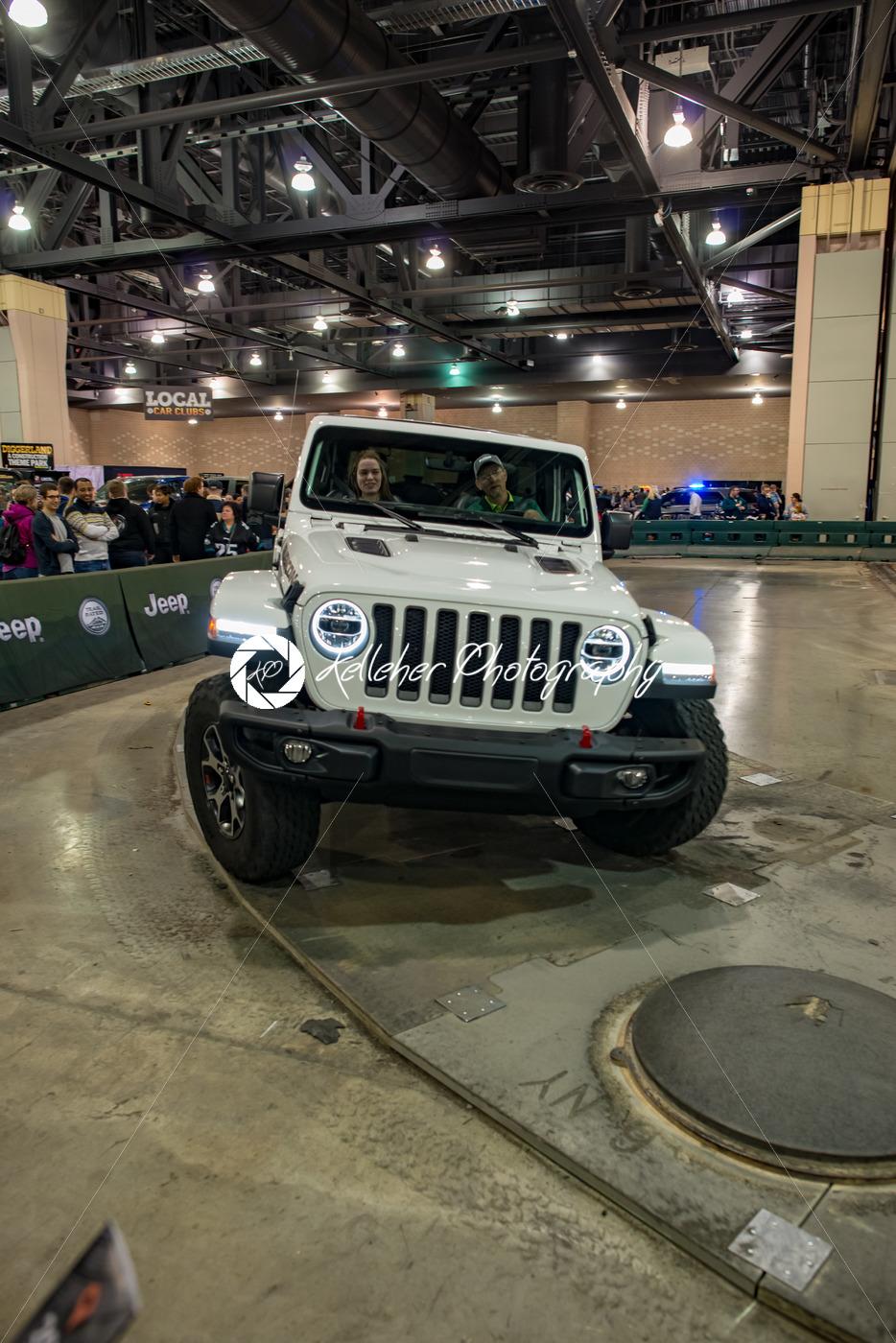 PHILADELPHIA, PA – Feb 3: People enjoying the Jeep experience 2018 Philadelphia Auto Show - Kelleher Photography Store