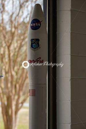Wallops Island, Virginia – March 28, 2018: NASA Wallops visitor's center - Kelleher Photography Store