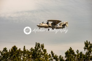 Wallops Island, Virginia – March 28, 2018: Navy Hawkeye Airplane at NASA Wallops center - Kelleher Photography Store