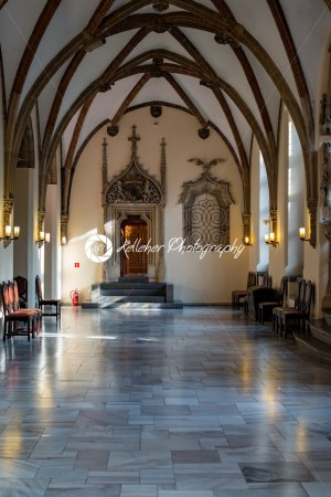 Wroclaw, Poland – March 4, 2018: Wroclaw Town Hall interior in historic capital of Silesia, Poland, Europe. - Kelleher Photography Store