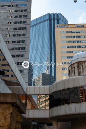Dallas, Texas – May 7, 2018: Buildings in Downtown Dallas Texas - Kelleher Photography Store