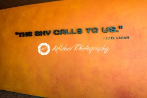 Cape Canaveral, Florida – August 13, 2018: Quote The sky calls to us by Carl Sagan at NASA Kennedy Space Center - Kelleher Photography Store