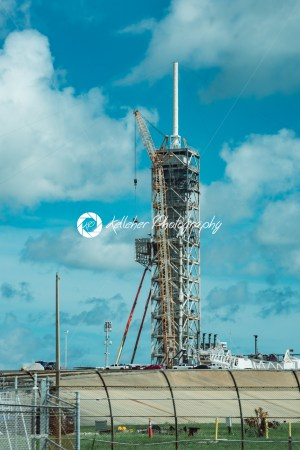 Cape Canaveral, Florida – August 13, 2018: Rocket Launch Pad at NASA Kennedy Space Center - Kelleher Photography Store