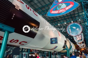 Cape Canaveral, Florida – August 13, 2018: Staurn V Rocket at NASA Kennedy Space Center - Kelleher Photography Store