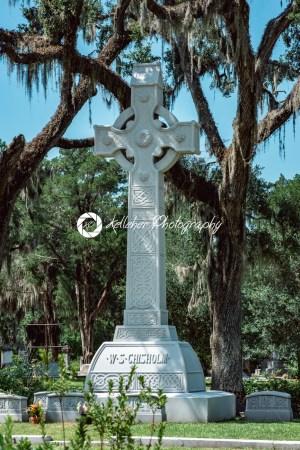 Chisholm Cemetery Statuary Statue Bonaventure Cemetery Savannah Georgia - Kelleher Photography Store