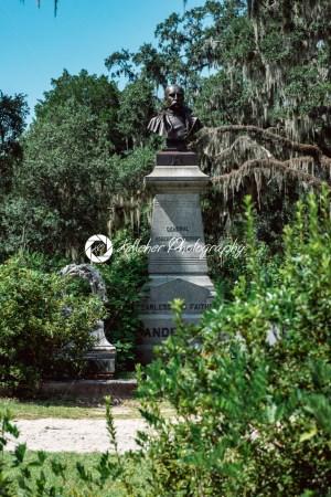 General Robert Harberson Cemetery Statuary Statue Bonaventure Cemetery Savannah Georgia - Kelleher Photography Store