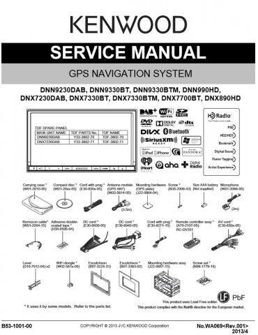 Kenwood Ddx9703s Manual : kenwood, ddx9703s, manual, Kenwood, Accessory, Store
