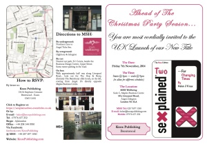 p1-UK Launch Invitation - Sexplained Two