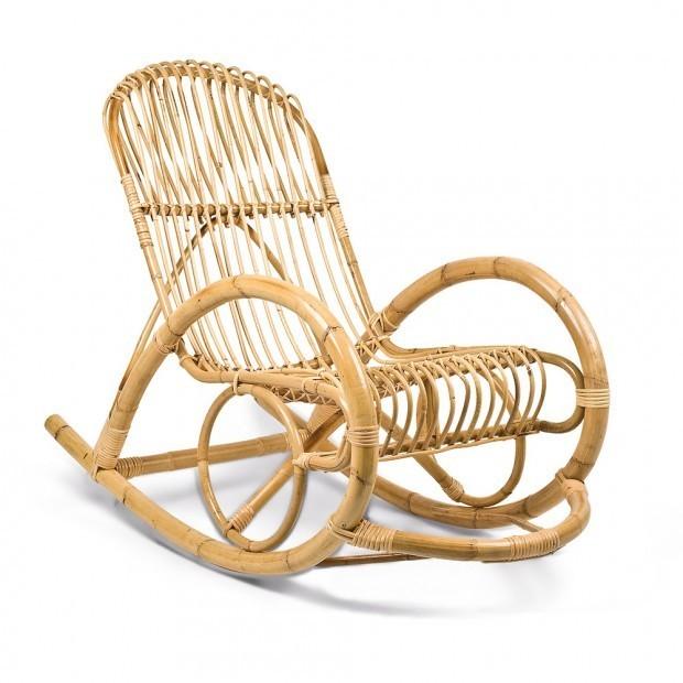 Sedia a dondolo Bambu Riposo  compra online Rosi Store