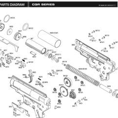 M4 Parts Diagram Headlight Switch Downloads  Kwa Airsoft