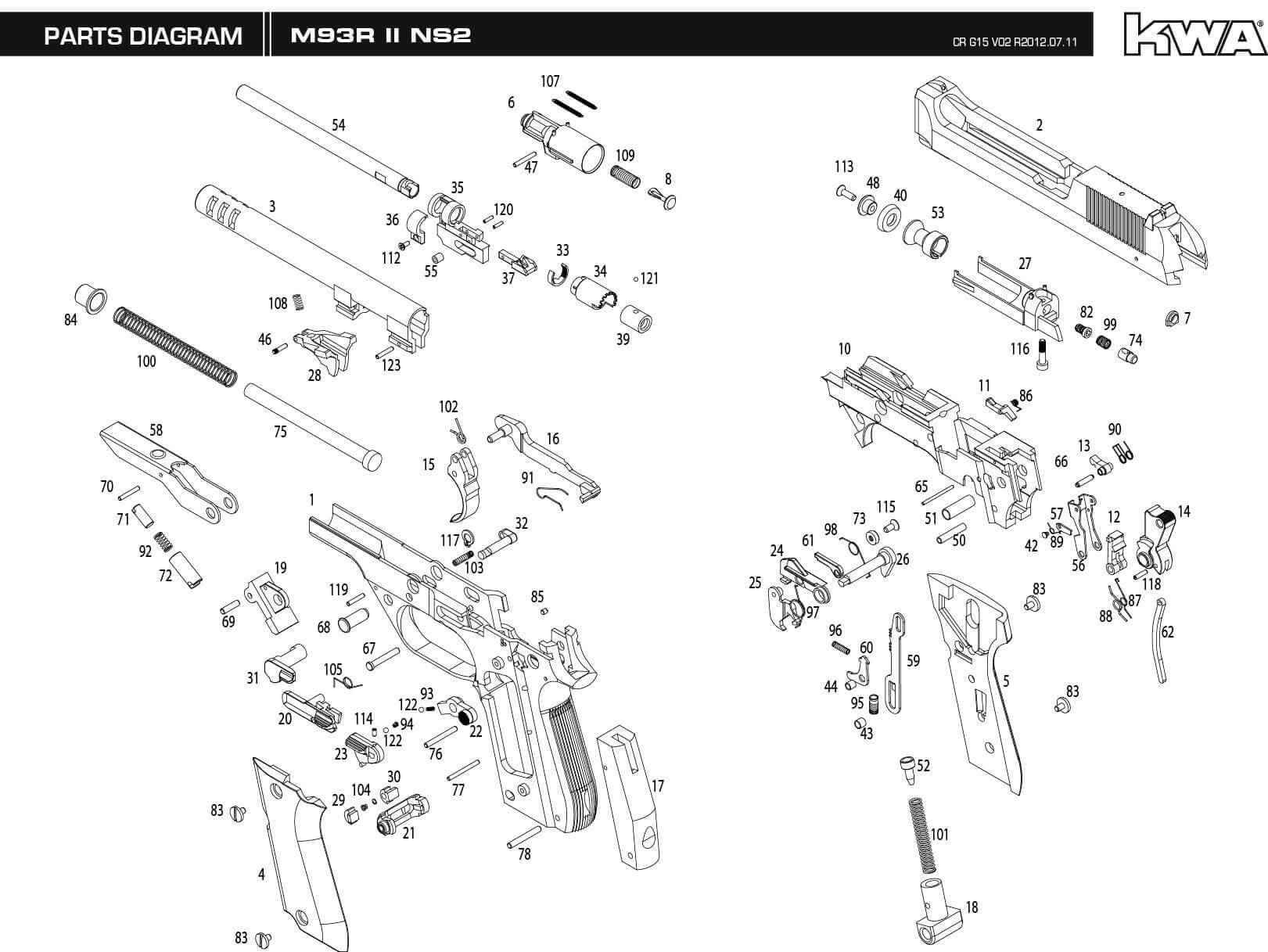 M Parts Schematic