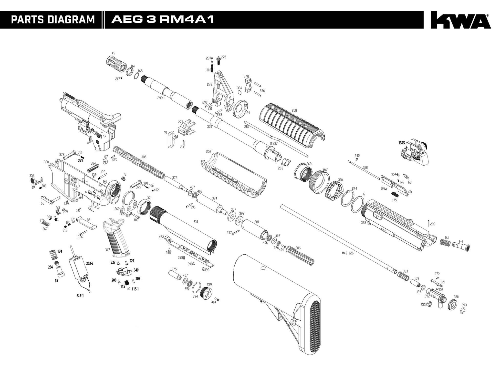 aeg gearbox diagram