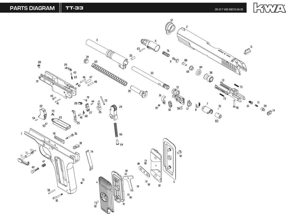 medium resolution of m9 parts diagram wiring diagram forward downloads kwa airsoft steyr m9 parts diagram m9 parts diagram