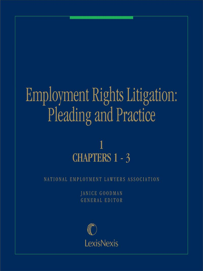 Employee Rights Litigation: Pleading And Practice