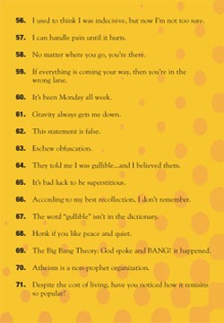 101 Of The Worlds Funniest One Liners Tracts