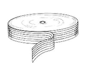 Flatwork ironer cotton belting