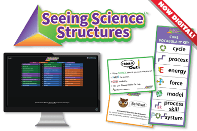 Seeing Science Structures digital, posters