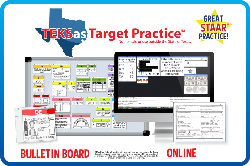 medium resolution of TEKSas Target Practice™ – Lone Star Learning