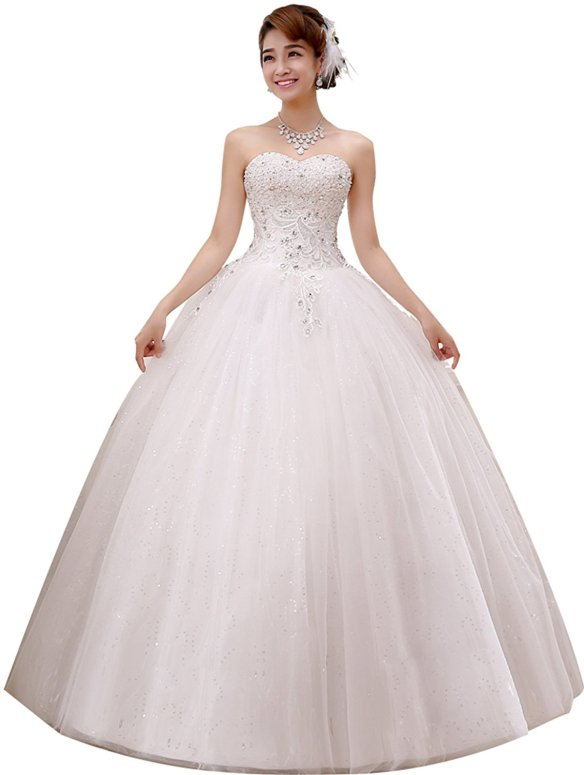 Ball Gown Wedding Dress Amazon - Store.LoveVisaLife