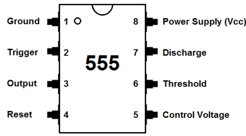 555 pin diaqramı