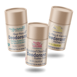 Marpy's all-natural deodorant trio